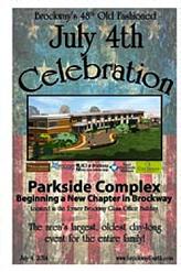 Park Side Complex July 4th Celebration
