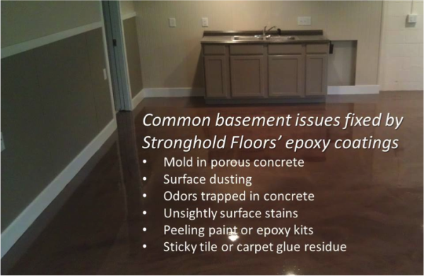 & Epoxy Floor Coatings Create a Mold-Proof Basement Floor