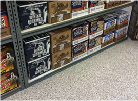 stronghold floors redoes Little's Beverage