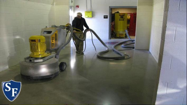 Polished concrete flooring vs concrete floor coatings