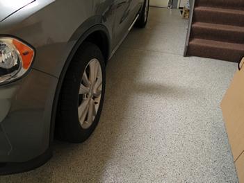 Easy to clean garage coatings