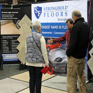 Garage Floor Coatings at the PA Home Show
