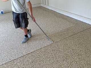 best garage floor coatings in maryland and pennsylvania - How To Epoxy Garage Floor