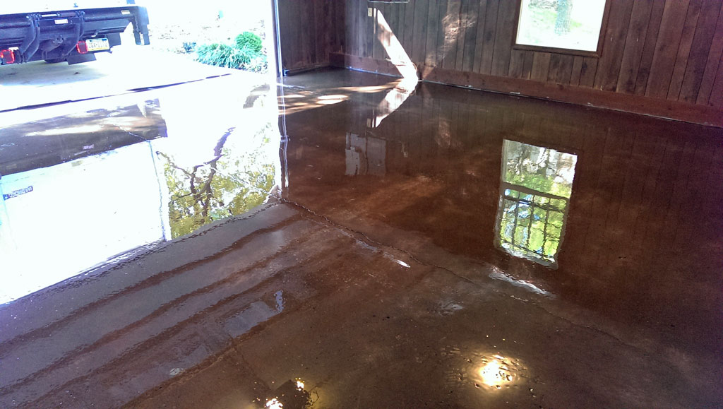 Epoxy Coatings For A Suspended Deck Garage Floor